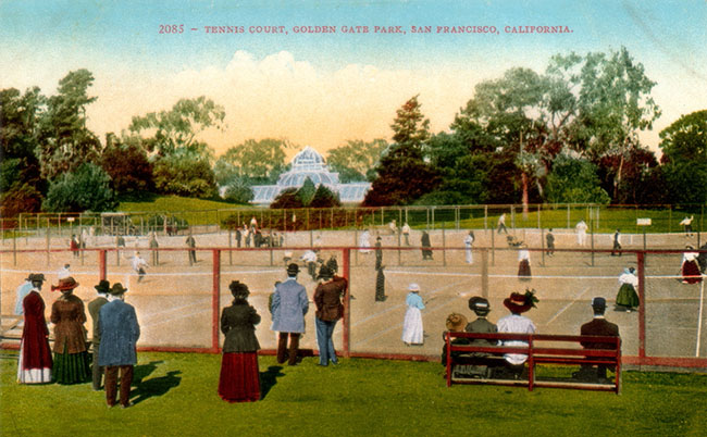 Historic image of Golden Gate Park Tennis Center